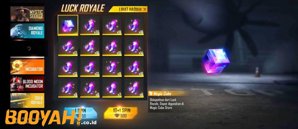 magic royale magic cube