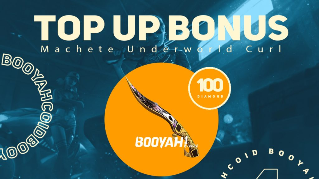 Top Up Bonus Skin Machete Underworld Curl