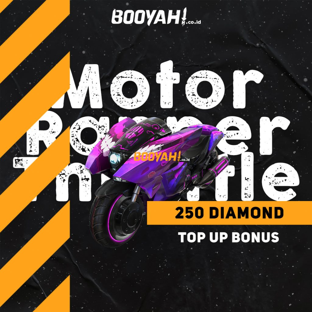 Yuk Ikut Event Top Up Bonus Motor Rapper Throttle Free Fire (FF)