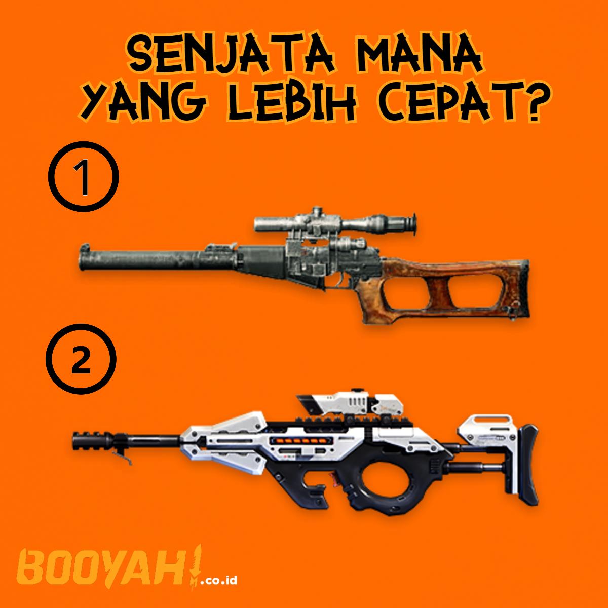 Quiz Kamu Hafal Rate Of Fire Semua Senjata Ff Coba Tebak Senjata Mana Yang Lebih Cepat