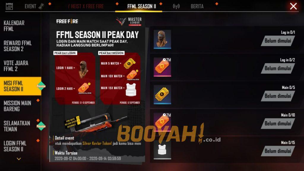 peak day mission