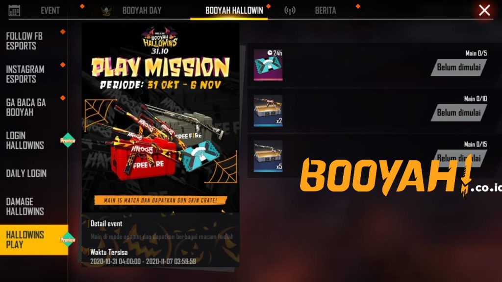 hallowins play mission