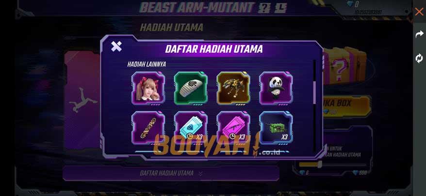 mystery crate beast arm mutant 1