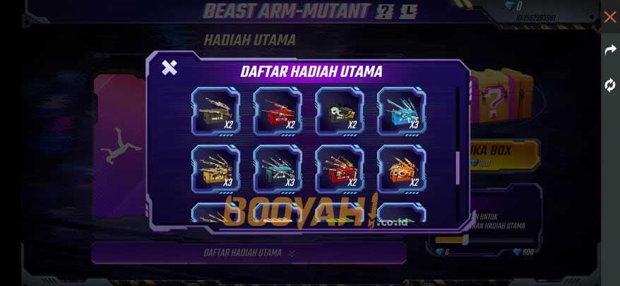 mystery crate beast arm mutant 2