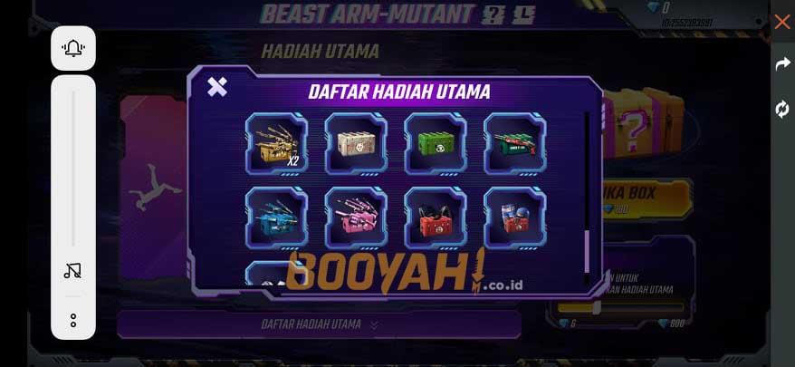mystery crate beast arm mutant 3
