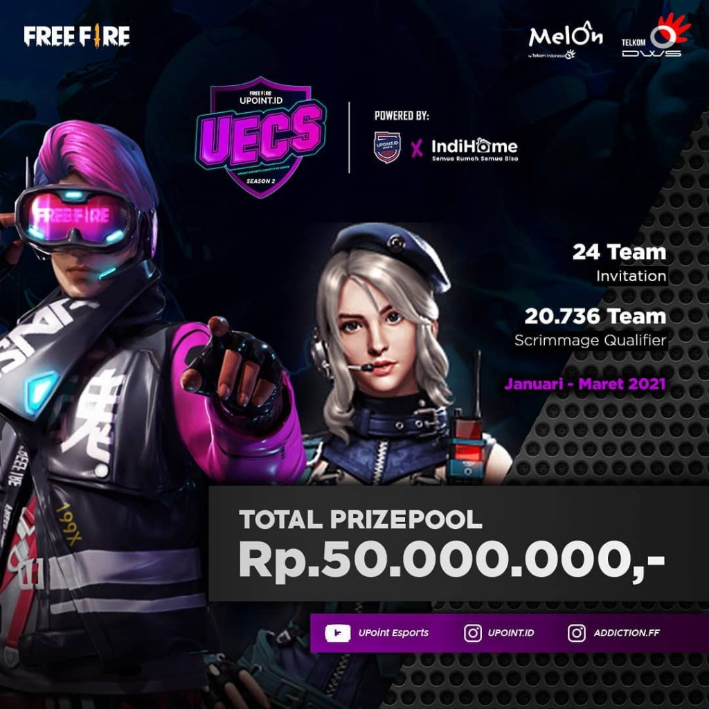 UPoint Esports Competitive Series Season 2 Kembali Hadir, Hadiahnya 50 Juta Rupiah Loh