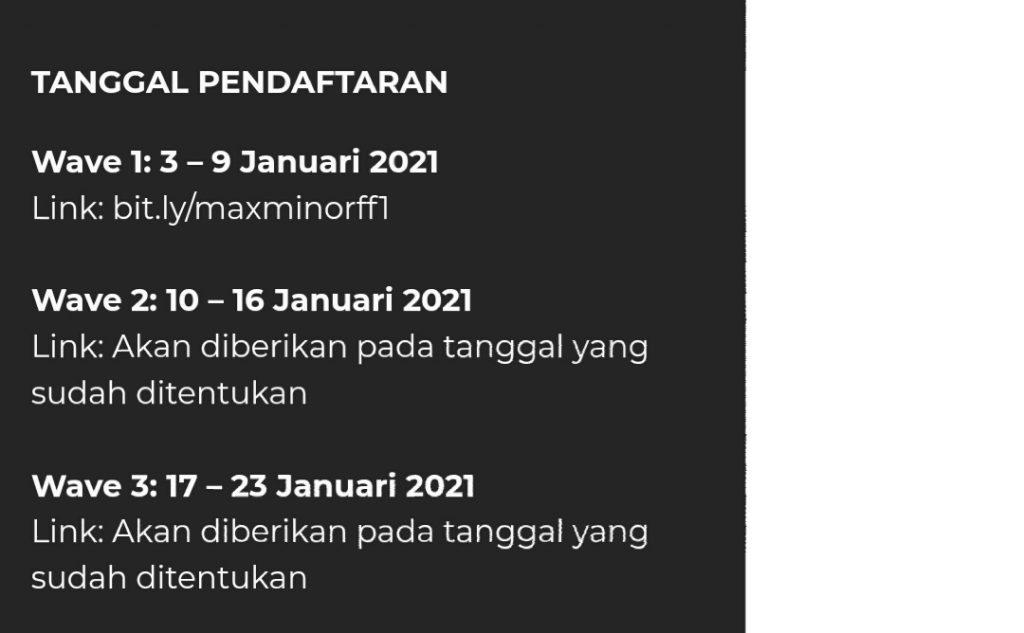 turnamen max minor2021 1