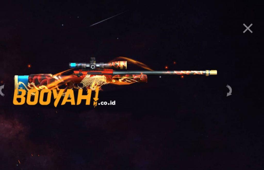 Alphinee Firebrand Bocoran Gun Skin AWM Koi