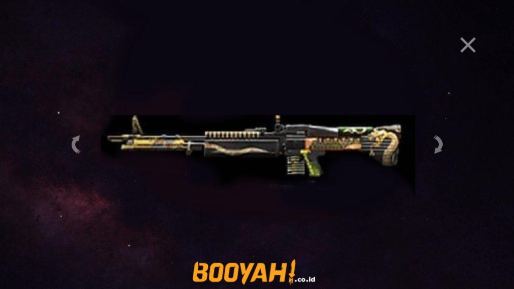 Alphinee Firebrand Bocoran M60 Viper Gangster
