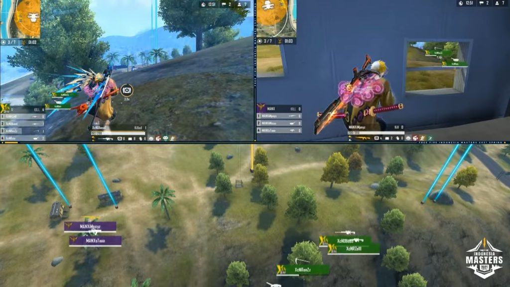 2021 Free Fire Indonesia Masters 2021 Spring Group Finals B 2 51 22 screenshot