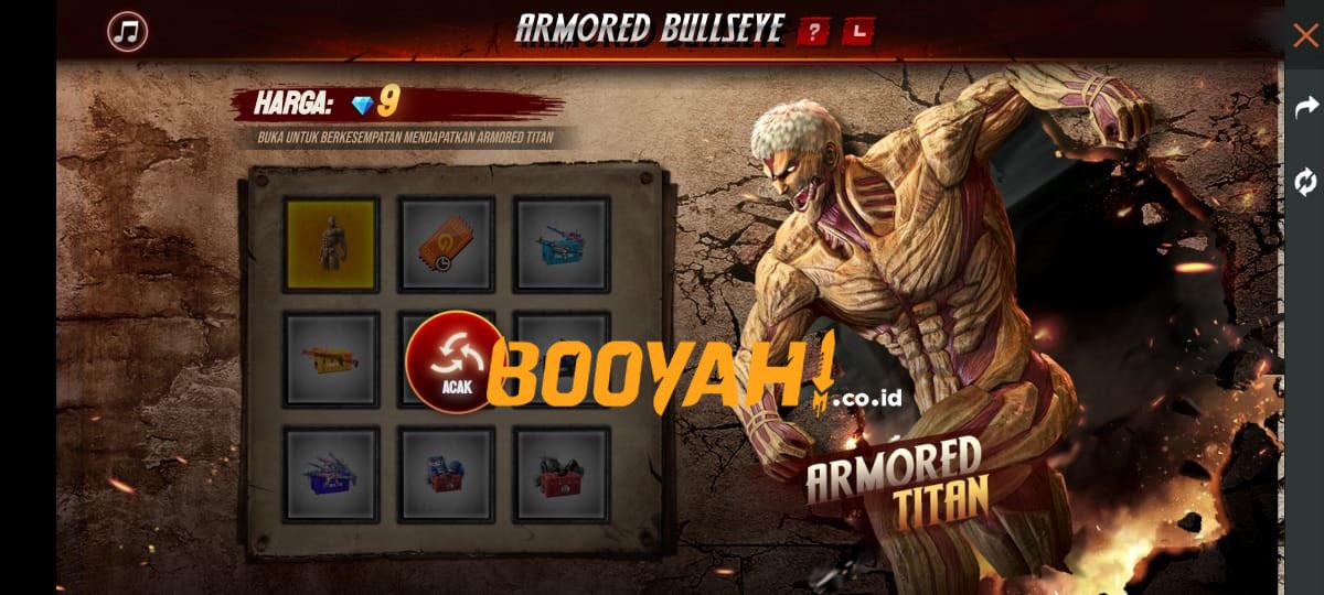 Armored Bullseye Free Fire